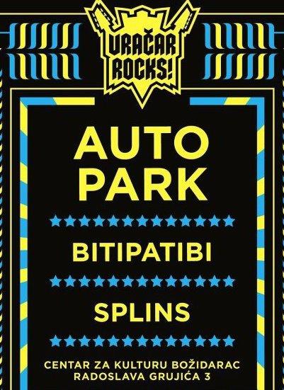 Autopark, Bitipatibi i Splins @ Vračar Rocks!