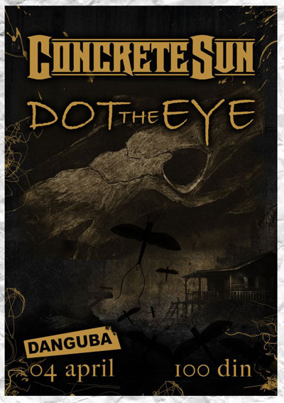 Concrete Sun & Dot The Eye @ Klub Danguba, Beograd