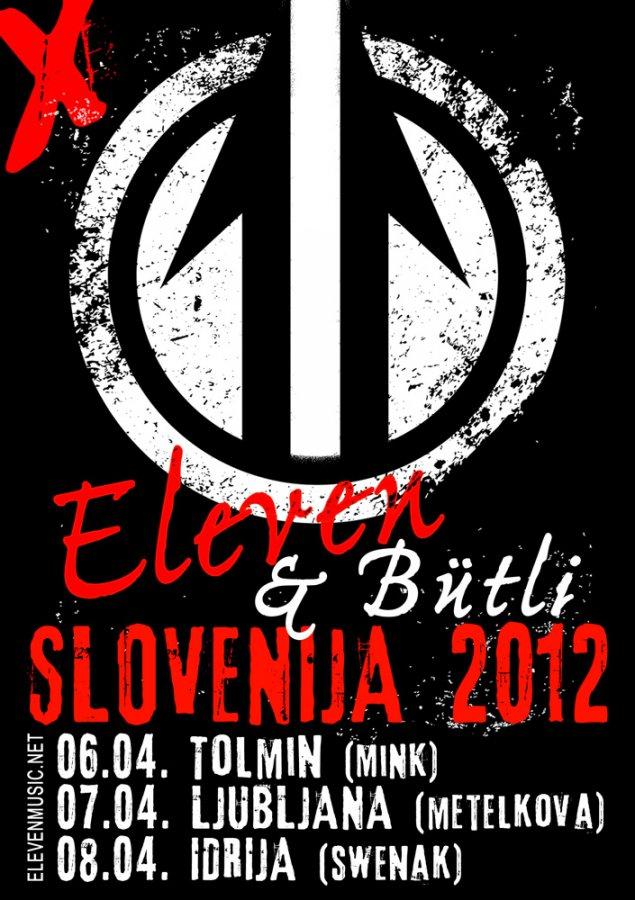 Eleven - Slovenija mini tour