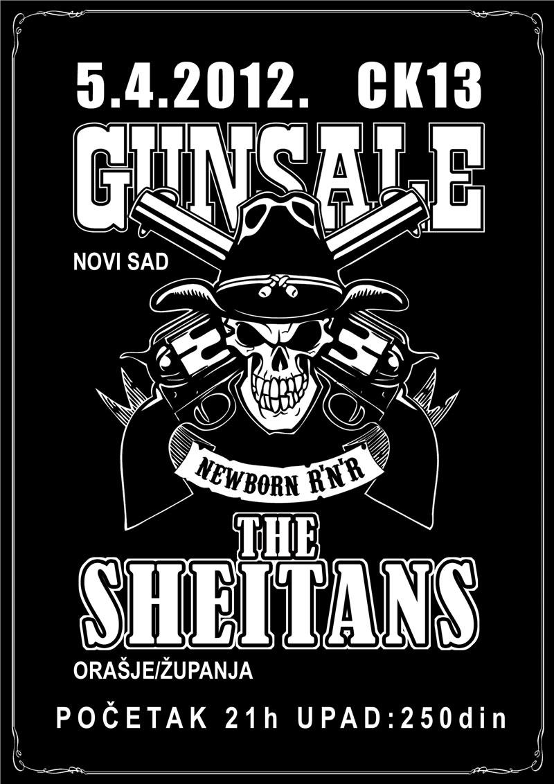 Gunsale & Sheitans @ CK13, Novi Sad