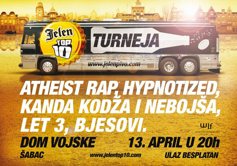 Jelen Top 10 turneja @ Šabac