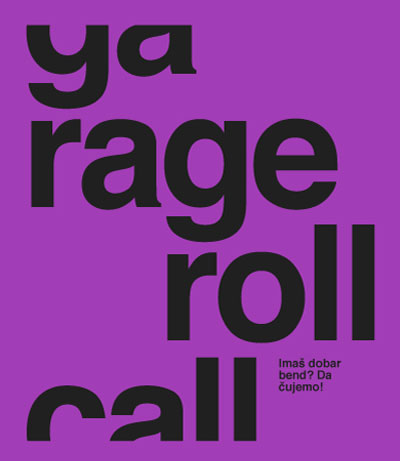 Mikser Garage Roll Call