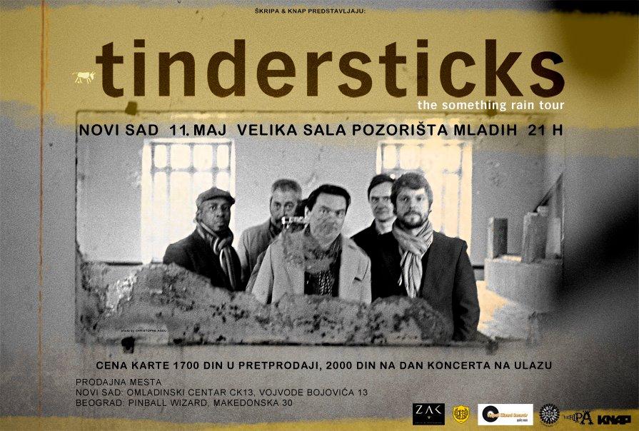 Tindersticks @ Pozorište Mladih, Novi Sad