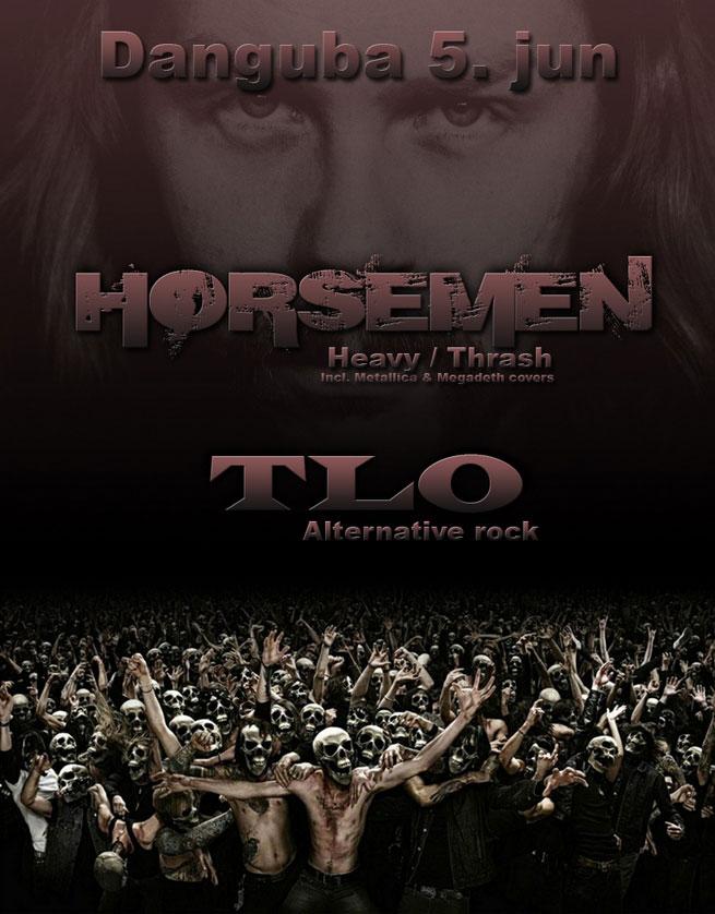 The Horsemen & TLO @ Danguba, Beograd