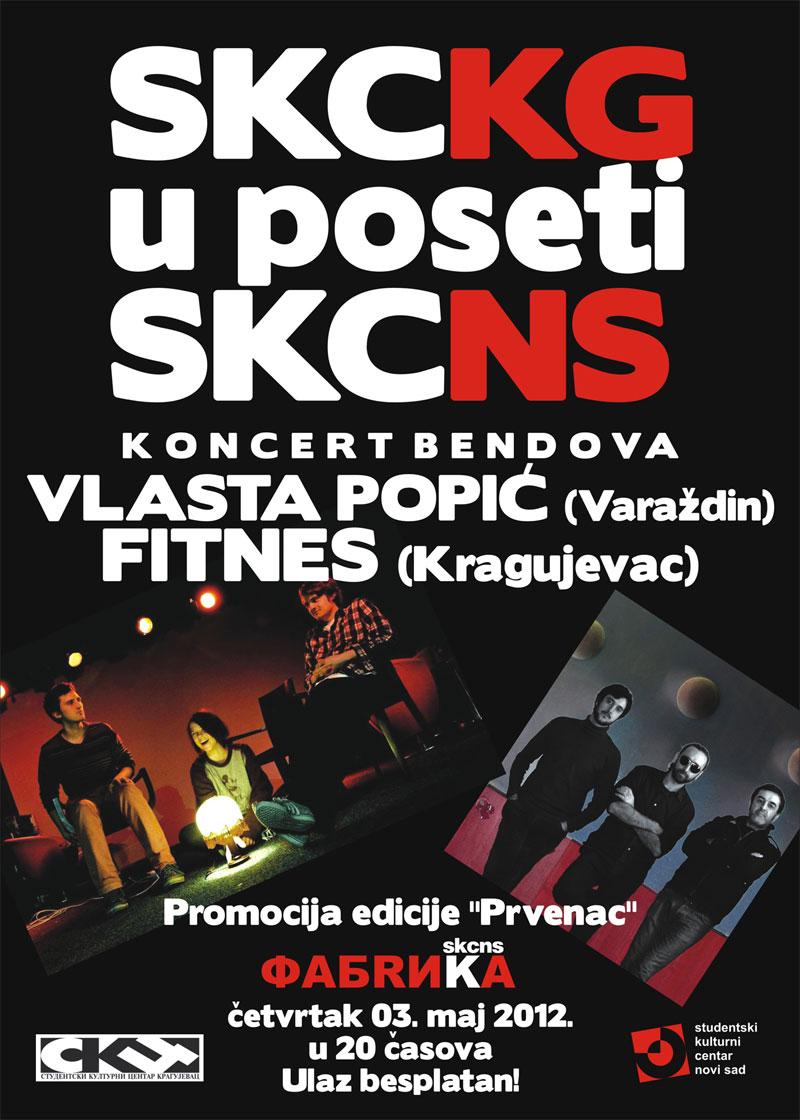 Vlasta Popić & Fitnes @ SKC Fabrika, Novi Sad