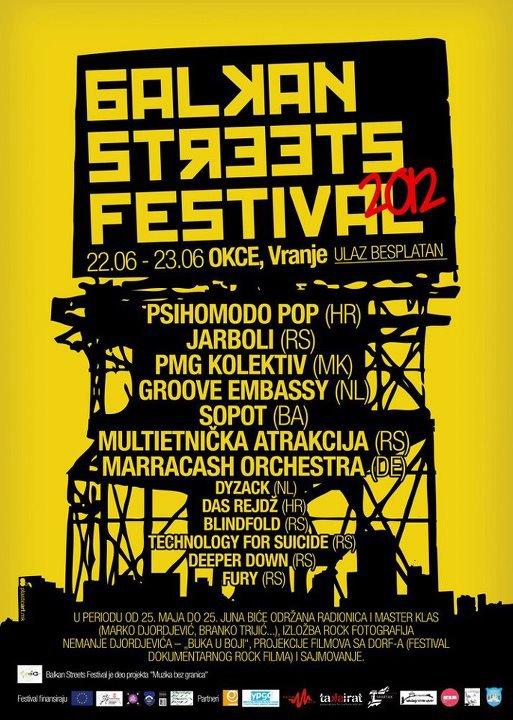 Balkan Streets Festival 2012, Vranje