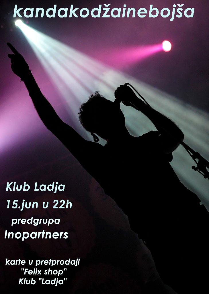 Kanda, Kodža i Nebojša i INOpartners @ Klub Lađa, Beograd
