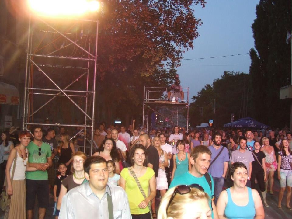 Randevu sa muzikom, Novi Sad - publika