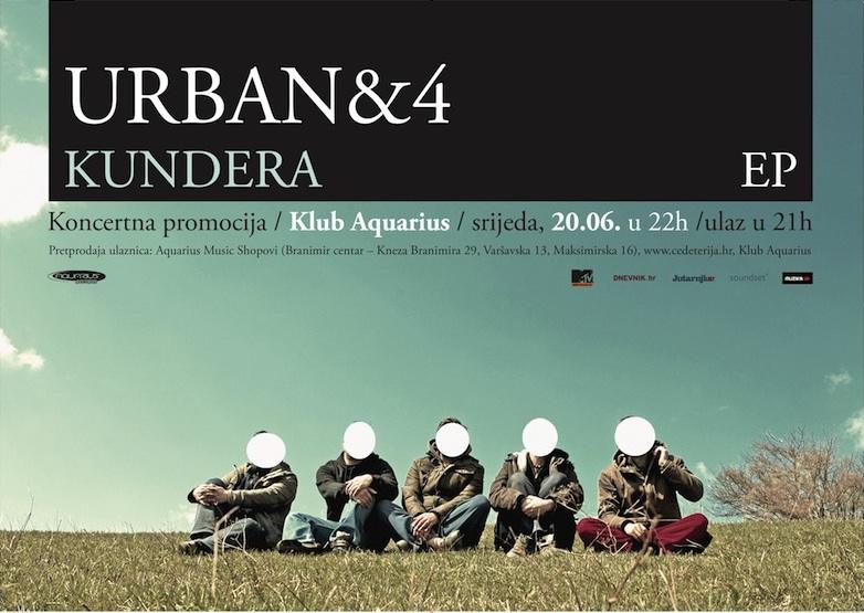 Urban & 4 (Promocija Kundere) @ Aquarius Klub, Zagreb