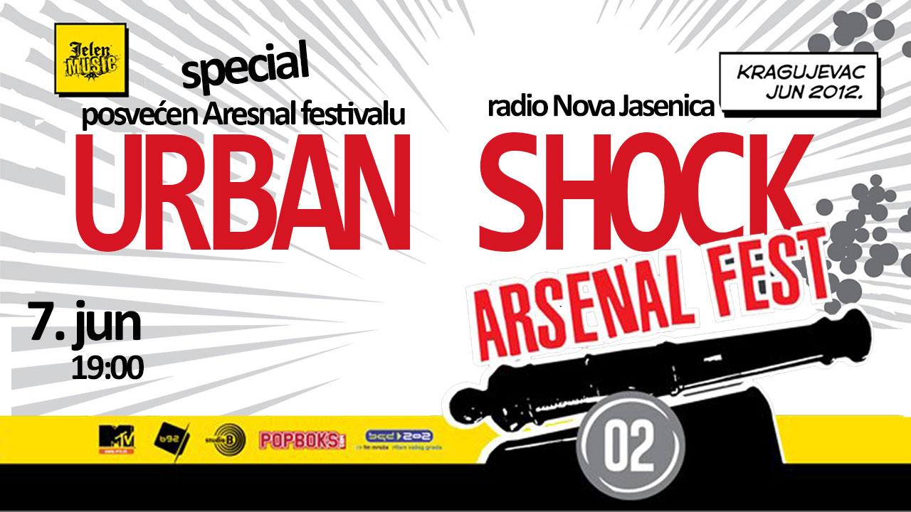 Urban Shock - specijal (Arsenal Fest)