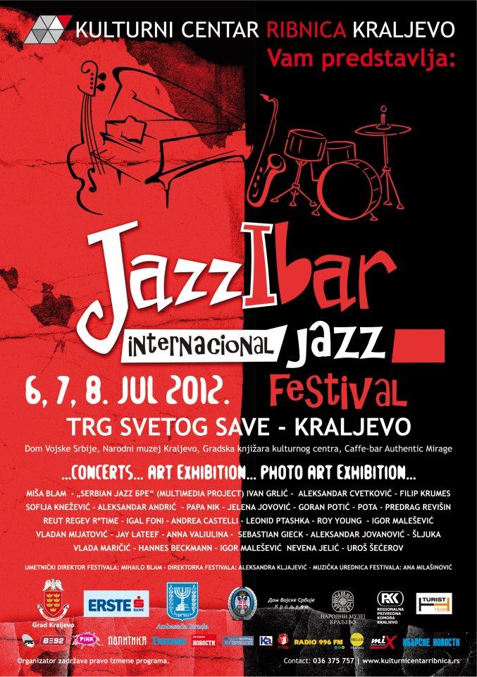 Jazzibar 2012, Kraljevo