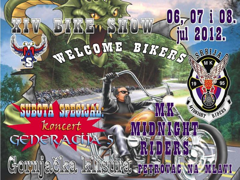 Bike Show - Midnight Riders, Petrovac na Mlavi