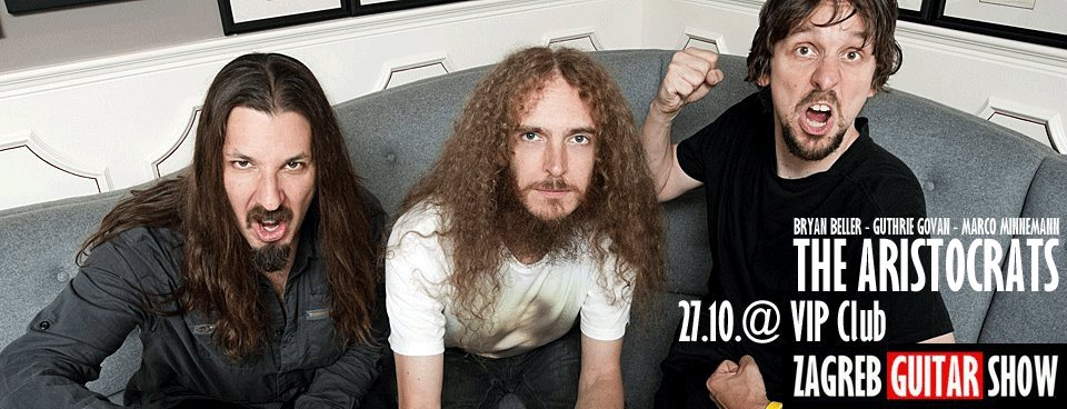 The Aristocrats @ VIP, Zagreb