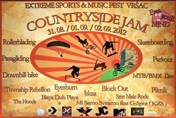 Countryside Jam Festival 2012 @ Vršac