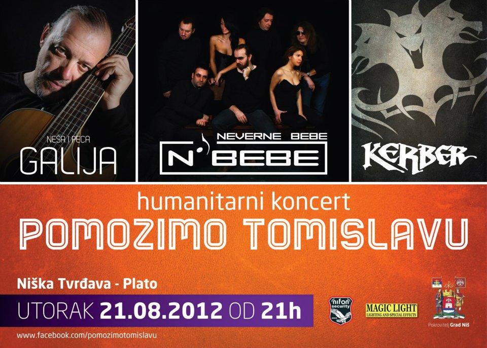 Humanitarni koncert Pomozimo Tomislavu
