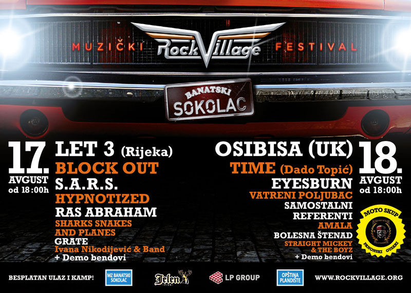 Rock Village 2012 @ Banatski Sokolac
