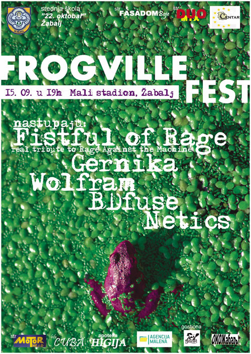 Frogville fest 2012 @ Žabalj
