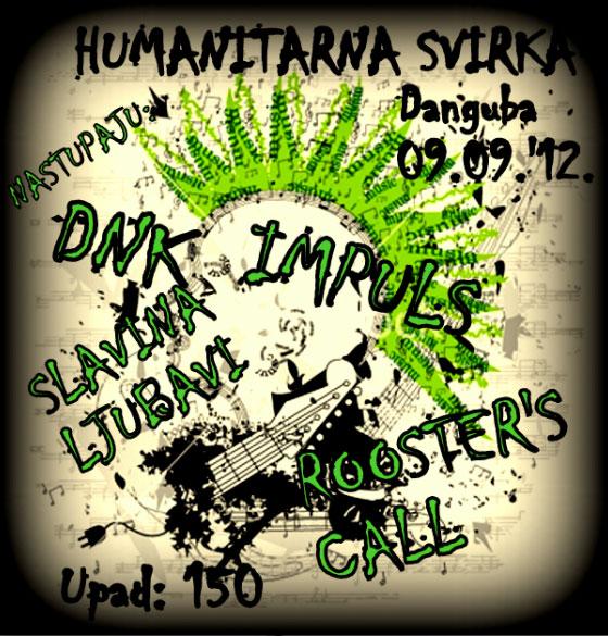 Humanitarna svirka za Aleksandra Đokića @ Klub Danguba, Beograd