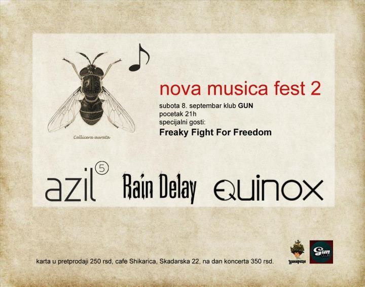 Nova Musica Fest 2 @ Gun Club, Beograd