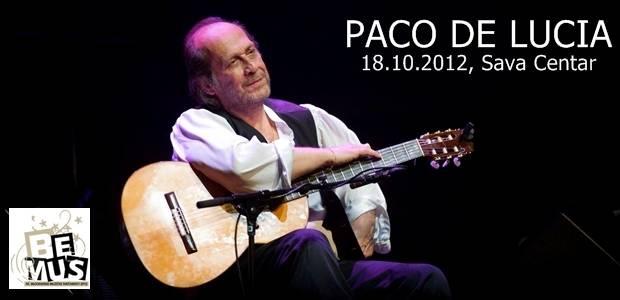 Paco de Lucia - Bemus @ Sava centar, Beograd