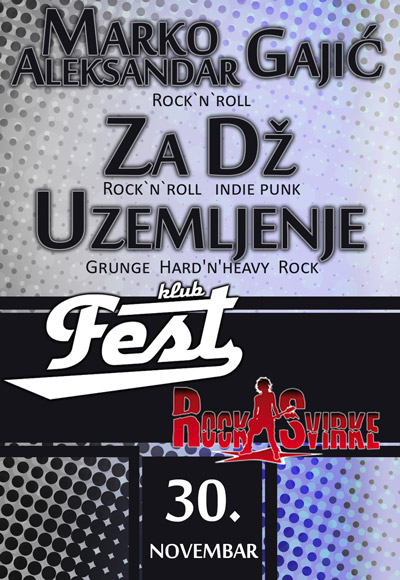 RockSvirke fiesta @ Klub Fest, Zemun
