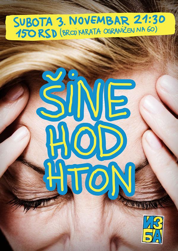 Šine, Hod i Hton @ Klub Izba, Novi Sad