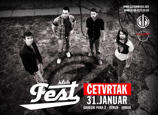 Eleven @ Klub Fest, Zemun