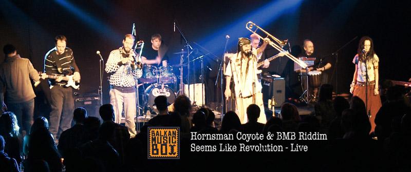 Hornsman Coyote & Balkan Music Box Riddim - Seems like revolution