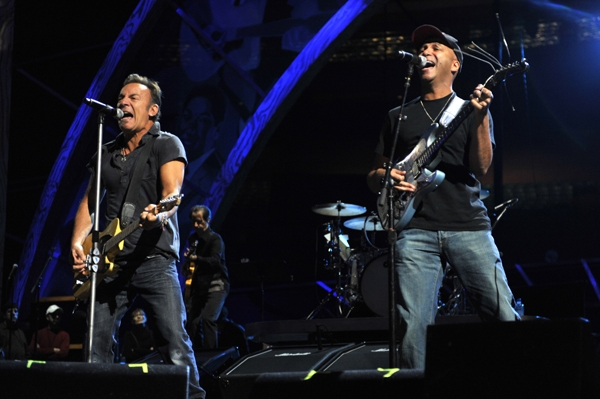 Bruce Springsteen & Tom Morello