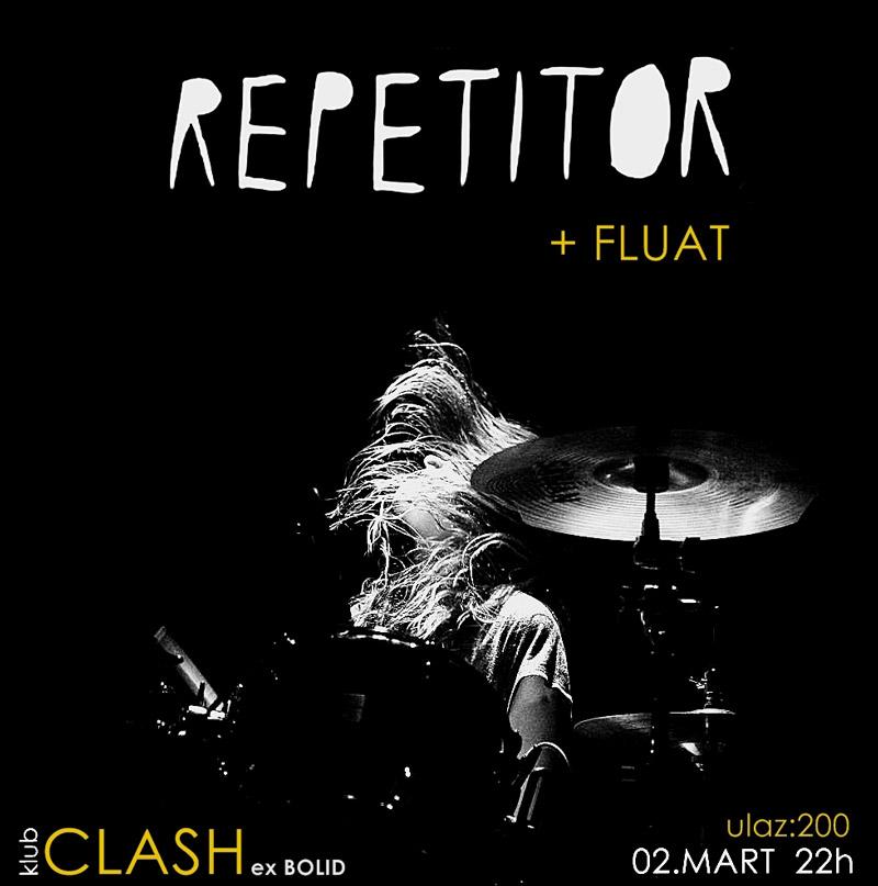 Repetitor @ Klub Clash, Subotica