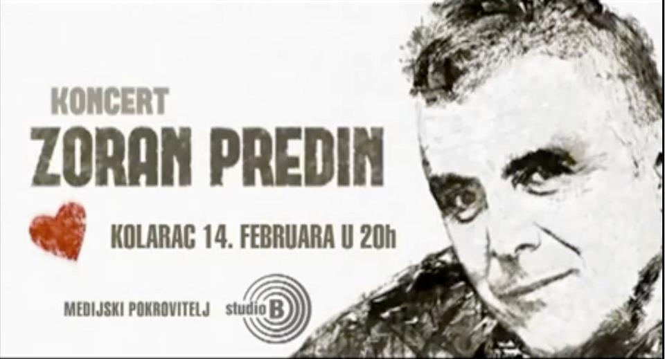 Zoran Predin @ Kolarac, Beograd