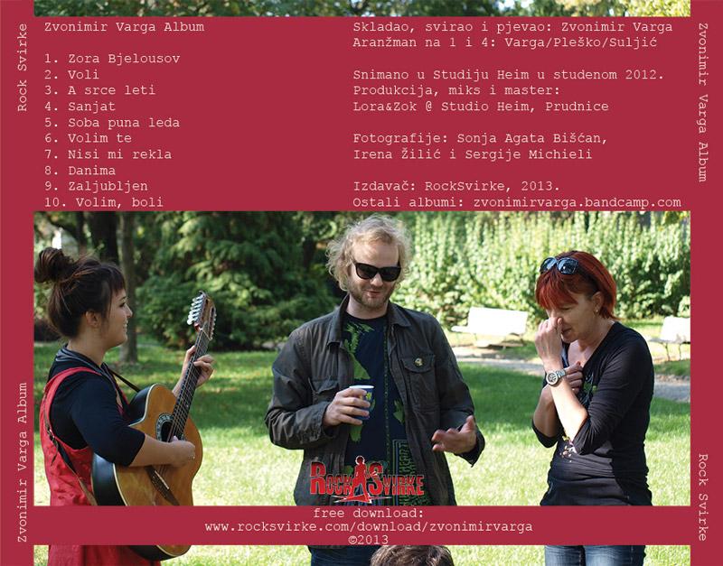 Zvonimir Varga - Album (zadnja)