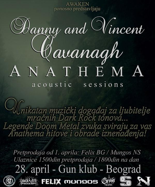 Anathema (acoustic) @ Gun Club, Beograd