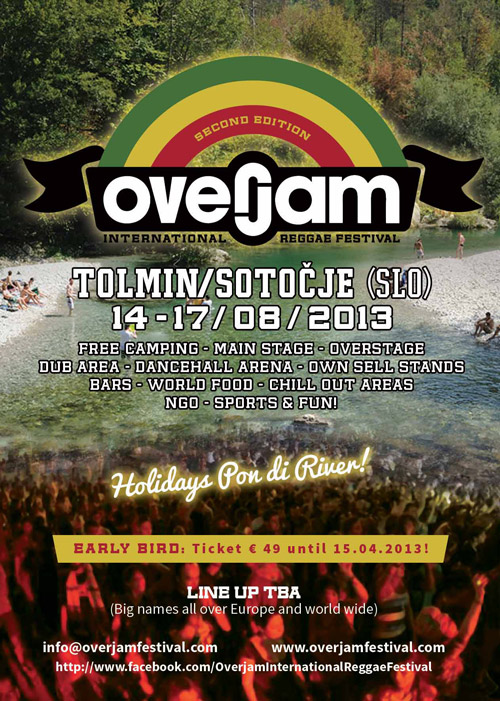 Overjam Festival 2013 @ Tolmin