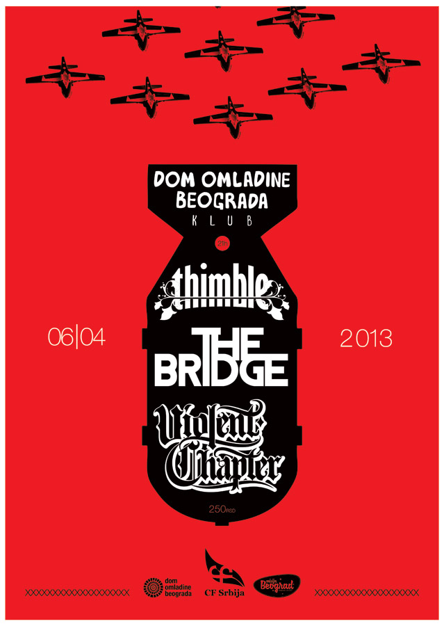 Thimble, The Bridge & Violent Chapter @ DOB
