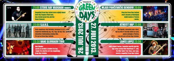 Green Days 2013 @ Pančevo