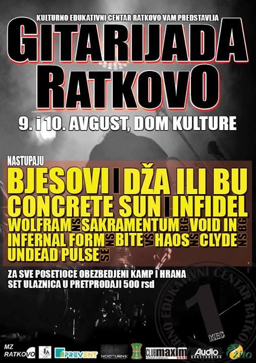 Gitarijada Ratkovo 2013