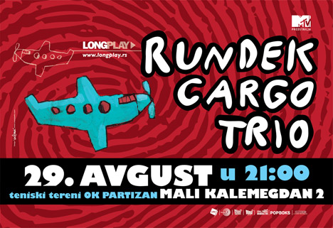 Rundek Cargo Trio @ Beograd