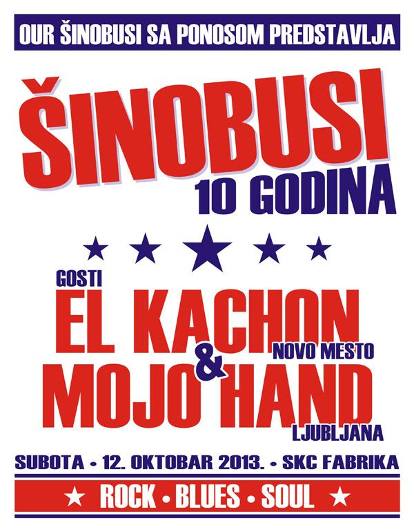 Šinobusi (10 godina) @ SKCNS Fabrika, Novi Sad