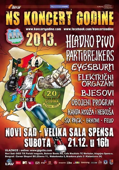 NS Koncert Godine 2014