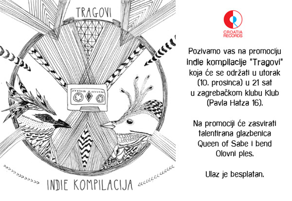 Indie kompilacija - Tragovi