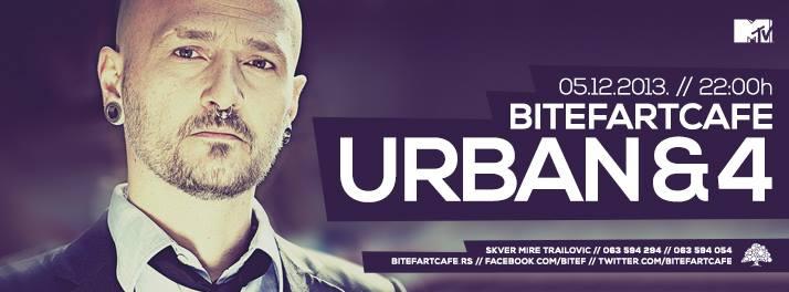 Urban & 4 @ Bitef Art Cafe, Beograd