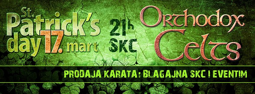 Orthodox Celts @ SKC, Beograd 2014