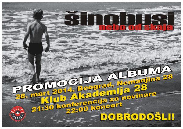 Šinobusi @ Akademija 28, Beograd