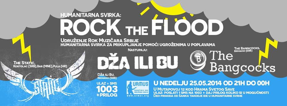 "Humanitarna svirka ""Rock The Flood"" u URMUS-u"
