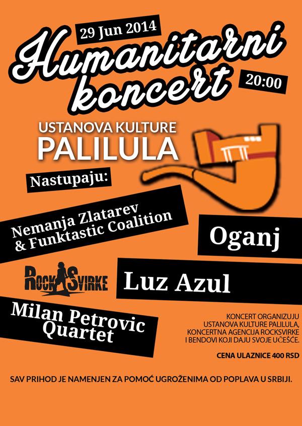 "Humanitarni koncert ""Jazz u pomoć"" u UK Palilula"