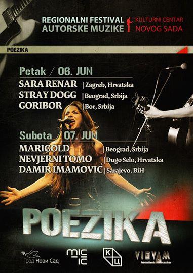 Festival regionalne autorske muzike POEZIKA