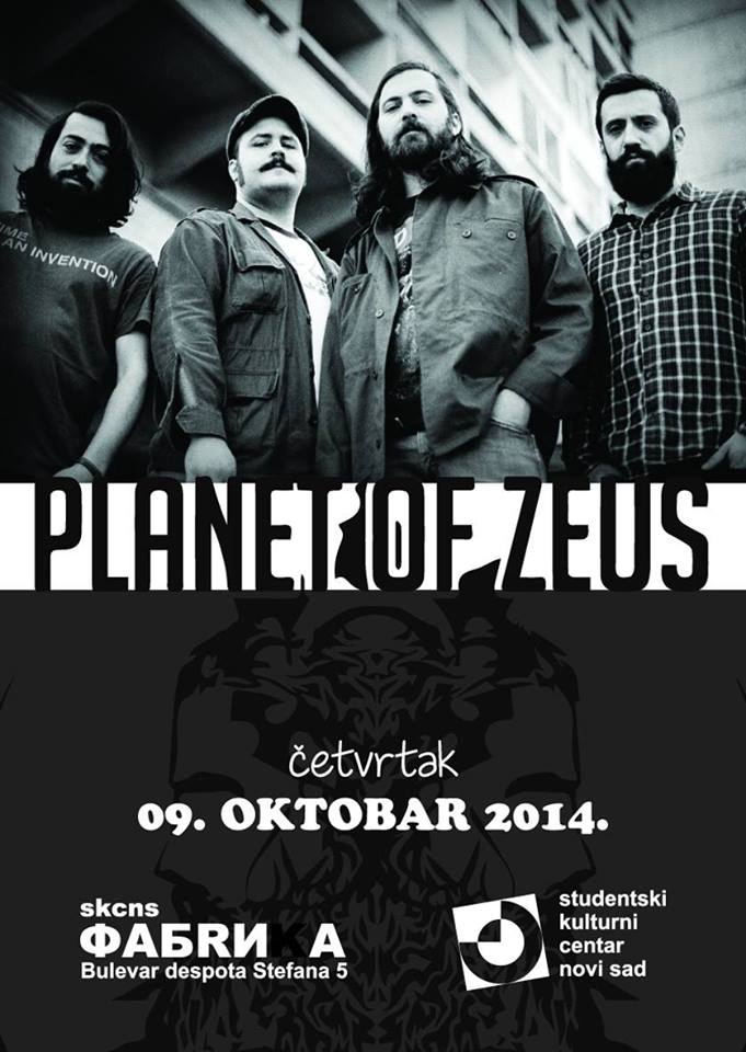Planet of Zeus - SKC Fabrika, Novi Sad