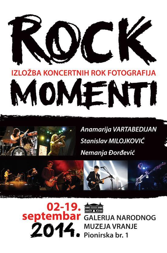 "Izložba koncertnih fotografija ""ROK MOMENTI 2014."" u Vranju"