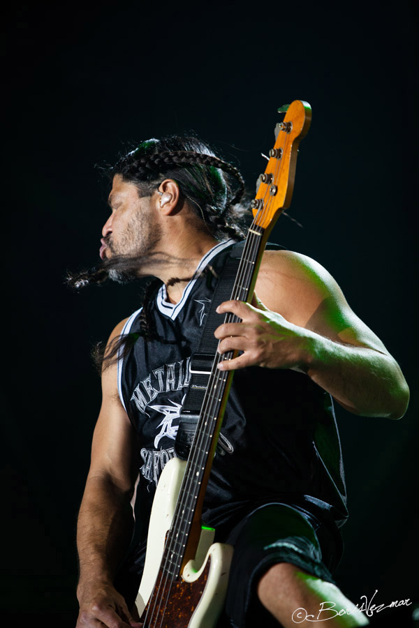 Metallica: Robert Trujillo @ Live in Belgrade 2012